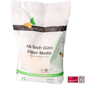 NATURE WORKS Glass Filter Verre filtrant pour Piscine Stage 1 – Sac 10Kg