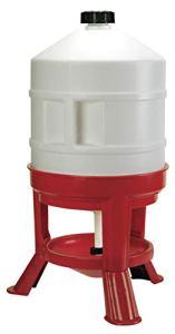 NOVITAL 70233 Abreuvoir poule 30 litres plastique sur pieds