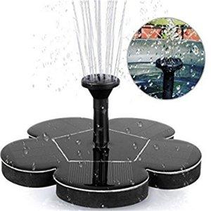 Pompe à eau solaire Panneau flottant Piscine Paysage de jardin Trousse d'arrosage pour étang de jardin Fontaine à énergie solaire Jardin