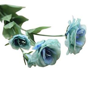 Fleurs artificielles artificielles Bouquet de mariage floral Platycladus Orientalis Décor à la maison fleur artificiel artificielle interieur