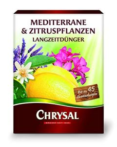 Inter Flower – Engrais longue durée Chrysal Citrus 300 g. Engrais perlé.