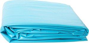 Liner PVC pour piscine poolomio, liner de grande qualité et résistant au froid, adapté aux piscines avec parois en acier de Ø 360 x 120 cm x 0,6 mm