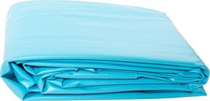 Liner PVC pour piscine poolomio, liner de grande qualité et résistant au froid, adapté aux piscines avec parois en acier de Ø 460 x 120 cm x 0,4 mm