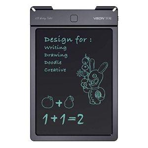 YIY Planche d'écriture LCD 13″ pour Dessin et Art Tablette numérique eWriters Memo Message Tableau d'affichage Liquide Cristal LCD Papier pour Enfant École Bureau Cuisine