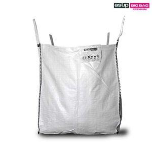 Asup Pierres Big Bag 90 x 90 x 110 cm SWL 2000 kg, blanc