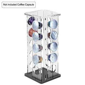 Café Capsule De Stockage Étanche Et Anti-encrassement Acrylique Café Capsule Présentoir Bar Stable Supplies Bar