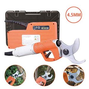CX TECH Sécateur électrique sans Fil sécateur cisaille à Branches grossière Arbre fruitier pour la Coupe de Branche dans 45mm