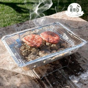 Desconocida Barbecue jetable BBQ Classics avec Support Charbon Barbecue Pic Nic