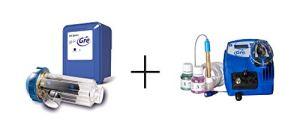 Gre SCGPH100 – Chlorateur au sel + Régulateur de pH pour Piscines à 90 m3, 21 grammes / heure