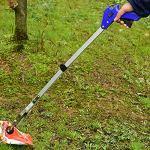 Poignée anti-dérapante multi-usages en alliage d'aluminium pliable Grabber Pick Up Tool Reacher Prolonger Facile Atteindre Bâton Trash Stick – ARGENT