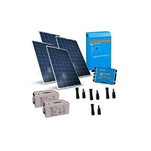 PUNTOENERGIA Italie–Kit solaire cabine 1KW 24V Lux Carte contrôleur de charge Onduleur 1000W 1200VA–kba-1000–1000V