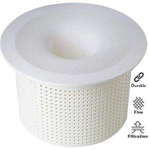 TOPOWN 10 pcs Chaussettes Skimmer Piscine Poche Filtrante Pre-Filtre jetable pour des filtres, des paniers de Skimmer prefiltre Piscine jusqu'à 24 cm