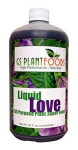 GS Plant Foods Engrais naturel tout usage Liquid Love 32 oz