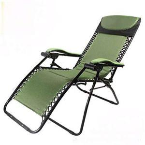 HEEGNPD Chaises Longues de Jardin Meubles de Jardin Meubles de Fer Chaise de Plage Chaise de Camping Chaise Longue Chaise Pliante de qualité
