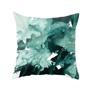 Junjie Série de peintures à l'huile abstraites géométriques Série Ultra Ultra Velvet Taie d'oreiller Canapé Cushio
