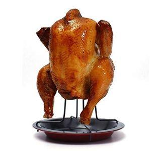 Ogquaton Support de support de rôtissoire pour poulet
