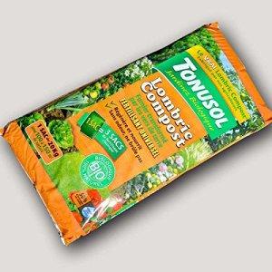 Tonusol Lombricompost Extra Pur sans mélange ni ajouts. UAB 20 kg
