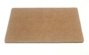 200 X rectangulaire Felt Pads auto-adhésif 150mm X 100mm X 4mm