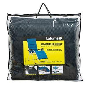 Lafuma Surmatelas rembourré Air Comfort pour fauteuil relax, Couleur: Acier, LFM2852-7278