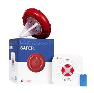Lifebuoy Système d'Alarme de Piscine – Détecteur de Mouvement de Piscine – Alarme de Piscine Smart contrôlée par Application. Puissantes alarmes retentissantes de Bord de la Piscine et à l'intérieur