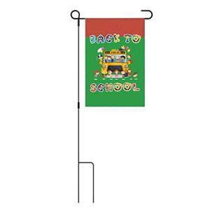 meaningful Festival de la rentrée Scolaire American Garden Flag 30 45CM