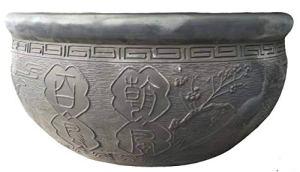 Mengyao Traditional Bainiaozhaofeng Ancienne Chambre de Bol de Poisson poterie Pékin Respirant Mousse Verte écologique Peut Se développer sur Le Balcon Salon avec Patio extérieur