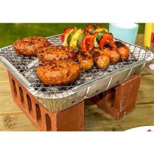 jetables instantanée barbecue grill pour 4personnes