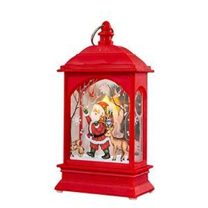 KiyomiQaQ Lumières de Noel Lanterne Solaire Exterieur Décoration d'arbre de Noël Lampes Exterieure Solaires De Jardin Au Sol Lampe Solaire Jardin Eclairage