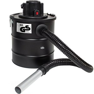 TecTake Aspirateur à cendres 20L moteur motorisé 1200 watt et filtre cheminée BBQ poêles // avec SGS-certificat (Aspirateur de à cendres + 1 filtre | no. 400930)