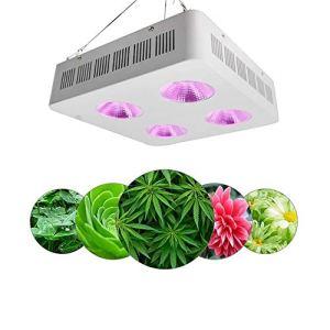 Élevage en serre 800 W 4 Trou Cob Plant Lampe pour Plante d'intérieur Plante Croissance Lampe À Effet de Serre Remplir Lampe Plug UK Croissance intérieure
