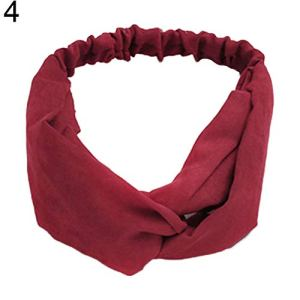 Profusion Circle Serre-tête en tissu fait à la main pour femme