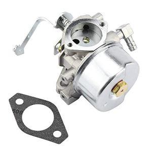 TOPINCN Remplacement De Carburateur pour Tecumseh 640152A HM80 HM90 HM100 Tondeuse à Moteur Abordable Pièces Accessoires