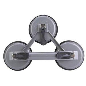 Ventouses en verre, plaque résistante de tasse d'aspiration d'alliage d'aluminium de poignée pour soulever le grand fixateur d'écart de plancher/verre/fixateur