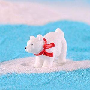 Whiie891203 Figurine Miniature en résine pour Jardin féérique 1 Couleur