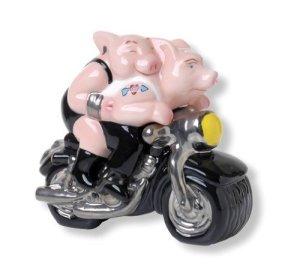 Argile Art motard porc Sel et Poivre en argile Art