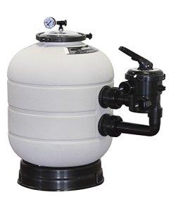 Astralpool Filtre Millenium avec sortie latérale T/Anneau 9000l/h D.480mm sel 1 1/2»