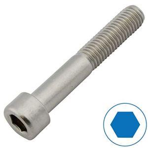 D2D | Unité d'emballage: 10 pièces – Vis à tête cylindrique à six pans creux – M5 x 80 – DIN 912 en acier inoxydable A2 V2A | vis à tête cylindrique