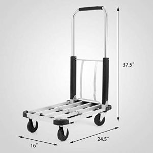 Generic Y Cart Diable Pliable en Aluminium Robuste