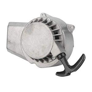 Hlyjoon Recoil Pull Starter + Volant Moteur En Alliage D'aluminium Puller Start Starter Remplacement Adapté Pour 47cc/49cc 2-Pocket Pocket Bike