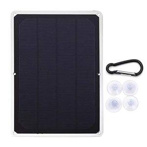 Jodie Bernol 1500mA 7V 10W USB monocristallins Panneau Solaire Panneau photovoltaïque avec Boucle générateur Accessoires
