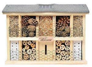 Luxus-Insektenhotels 22629e Landsonne Abris à Insectes Lumineux avec Cellule Solaire 3 LED Interrupteur et capteur de lumière