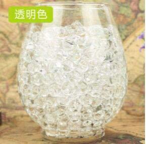 SANHOC Lot de 10 000 Grandes Perles d'hydrogel 2-3 cm en Forme de Perle, de Terre et d'Eau, de Boue, de bonsaï, de Culture, de Mariage, de Culture : 3