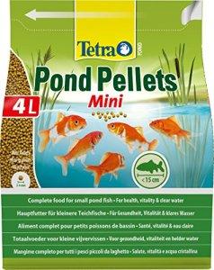 TETRA Pond Pellets Mini – Aliment Complet en granulés pour petit Poisson de Bassin – 4L