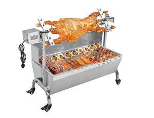 TX® 20 W Acier Inoxydable Four à rôtir électrique Agneau Barbecue Cuisinière Barbecue Barbecue Barbecue Set d'outils 110V/60HZ 118# Stove with Wind-Proof Plate