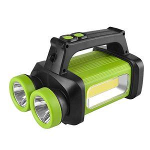 U & TE Lanterne Portable, USB recharge lampe torche LED, portable Camp léger, portable LED double tête Glare portable lampe de poche lumière extérieure d'urgence Camping Lumière for camping en plein a