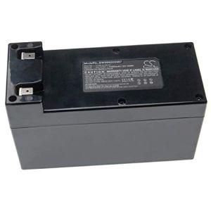 vhbw Batterie Compatible avec Lawnbott Lizard M440, Lizard M480, Lizard M485, Q6, S1, S14, S14N, S2 Tondeuse à Gazon (10200mAh, 25.2V, Li-ION)