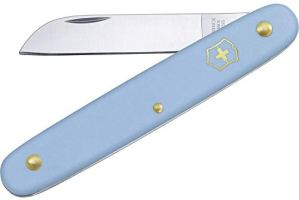 Victorinox 3.9050.25B1 Couteau de Jardin, Bleu, 10 cm