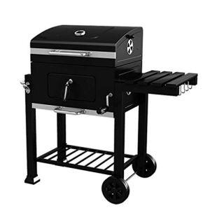 YONG FEI BBQ Grill – Épaissir Un Barbecue Portable Maison Jardin Charbon de Bois Grande Villa extérieure de Voiture Barbecue sans fumée Commerciale Barbecues au Charbon