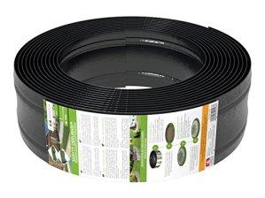 AMISPOL® bordure de gazon en plastique 125/4 mm, longueur 12 m