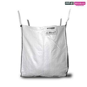 ASUP Big Bag Grands Bag Pierres et sachets 90 x 90 x 110 cm SWL 1500 kg, blanc